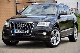 2013 Audi Q5 2.0 TDI S Line Plus S Tronic+AUTOMATIC+DIESEL+Quattro 5dr (start/stop) +£4000 EXTRAS