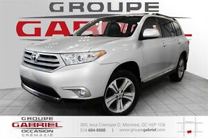 2013 Toyota Highlander Sport 4WD 7 Pass / Cuir / Toit ouvrant /