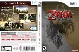 NINTENDO WII LEGEND OF ZELDA TWILIGHT PRINCESS, ADVENTURE GAME COMPLETE