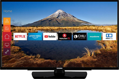 Telefunken D39F502N4CW LED-TV 98 cm 39 Zoll EEK A+ (A+++ - D) Full HD Schwarz
