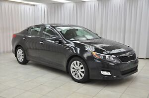 2014 Kia Optima EX GDi SEDAN w/ BLUETOOTH, HEATED LEATHER, DUAL