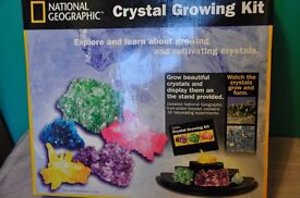 National Geographic Crystal Growing Kit (brand new) - ideal Xmas present !