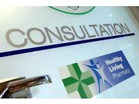 THERAPY/CONSULTATION CLINIC ROOM IN PHARMACY - BUSY HIGH STREET LOCATION