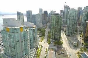 Two Bedroom/Two Bathroom For Rent at Bayview at Coal Harbour...