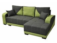 NEO CORNER SOFA BED, CORNER SOFA, FABRIC SOFA BED.