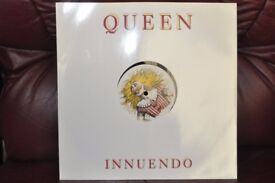 "Queen Innuendo on 12"" Vinyl record"