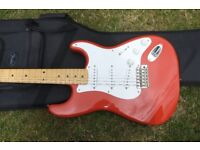 New Fender Classic Series 50's Fiesta Red Stratocaster