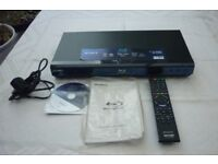 Sony Blu Ray Player with manual and remote BDP-S350