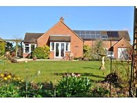 3-bed furnished detached house, nr Oxford, suitable for professionals, academics or families,
