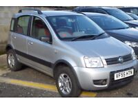 SILVER GREY FIAT PANDA 4X4 1.2 Petrol 5 Door Manual