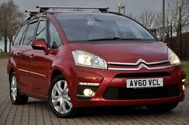 2010 Citroen Grand C4 Picasso 2.0 HDi Exclusive 5dr+DIESEL+7 SEATER+JUST SERVICED+2 KEYS