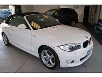 BMW 1 Series 118i Sport (white) 2011