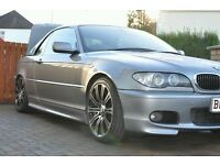 BMW E46 3 Series Convertible Hard Top Dolphin Grey And Stand