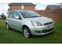Ford Fiesta Zetec 1.4 TDCI / Diesel / £30 Road Tax for Year / Full Service History / Long M.O.T