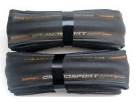 A Pair Continental Grand Sport Race Road Racing Tyres 700c 23mm RRP £59 ULTRA