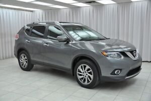 2014 Nissan Rogue 2.5SL AWD SUV w/ BLUETOOTH, HEATED LEATHER, DU