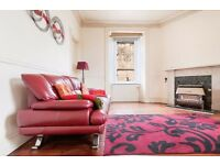 Desirable and uplifting 2 bedroom 1st floor flat in Meadowbank available NOW – NO FEES!