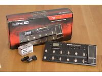Line 6 Pod HD500 Guitar Multi Effects FX Pedalboard, boxed