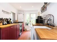 Spacious 1 bed, large reception room, modern kitchen and private patio.