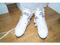 Graf Bolero White Figure Skates EU 42/ 8 UK Adult