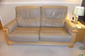 3 piece leather suite,