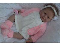 Reborn Baby Girl Doll Lydia Rose