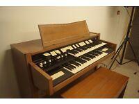 Original Hammond T102/1 model organ with stool