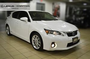 2013 Lexus CT 200h TOURING, HYBRID, LEATHER, SUNROOF
