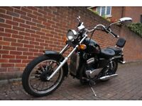 AJS DD125 E-8. Custom Cruiser motorcycle - Learner Legal 125cc