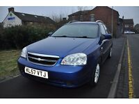 CHEVROLET LACETTI 1.6 SX 5DR PETROL ( 2 OWNER, SERVICE HISTORY)