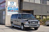 2013 Ford E-350 XLT Short 12 Passenger Van Gas