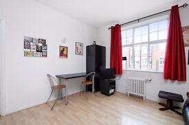 LARGE AND VERY QUIET STUDIO FLAT TO RENT A SHORT WALK FROM BELSIZE UNDERGROUND STATION