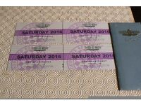 GOODWOOD REVIVAL 2016 SATURDAY ENTRY TICKETS