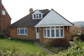 4 Bedroom Detached Bungalow with Garage. £1400