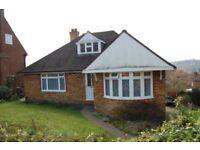 4 Bedroom Detached Bungalow with Garage. £1400