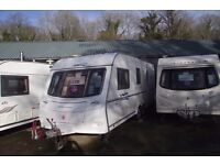 R&K CARAVANS 2006 COACHMAN LASER 590/4 TWIN AXLE, FULL AWNING, 12 MONTHS WARRANTY