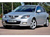 2009 Mazda3 2.0 D Sport 5dr+DIESEL+FULL LEATHER+FREE WARRANTY+6 SPEEDS+BOSE SOUND SYSTEM