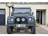 Low mileage 300 Tdi modified Landrover defender
