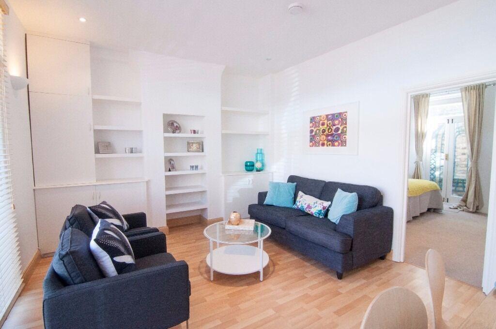 Outstanding 1 bedroom garden flat Hammersmith zone 2 SHORT LET