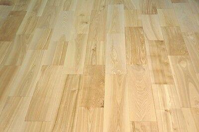 Lagerausverkauf Massivholzdiele Parkett Esche Natur 15x160 x 300-500 mm, massiv ()