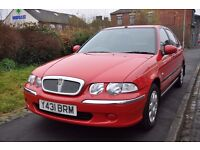 ROVER 45 1.6 IMPRESSION 5DR PETROL (LOW MILEAGE)