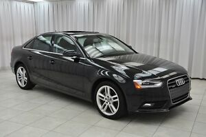 2014 Audi A4 TFSi QUATTRO AWD SEDAN w/ BLUETOOTH, HEATED SEATS,