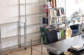 Desk space in Old St design studio