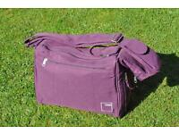 iCandy Cherry Mulberry baby change bag