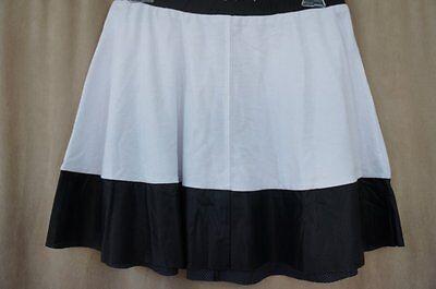 Teen Vogue for MstyleLab Juniors Skirt Sz S Black White Skater TV Fixture Skirt ()