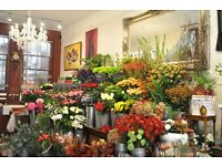 A Full Time Experienced Florist is required to join our ever growing flower business