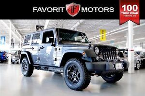 2016 Jeep WRANGLER UNLIMITED Sport TRAIL RATED 4X4   MANUAL   HA
