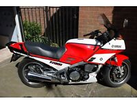 Yamaha FJ1200 Red and White in Great Shape