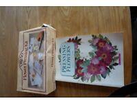 Flower Pressing Kit (plus accompanying book)
