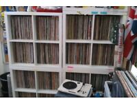 large vinyl record collection for sale house soul disco rock pop reggae